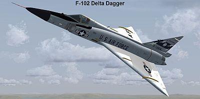 Colnvair F-102 Delta Dagger