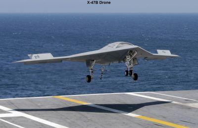 Northrop Grumman X-47B Drone