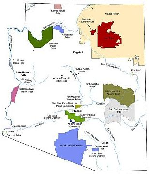 Arizona Native American Tribal Lands