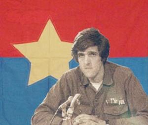 Kerry & Viet Cong Flag