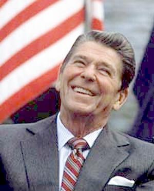 President Ronald Wilson Reagan